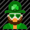 costume, st patricks day, irish, ireland, shamrock, character, avatar