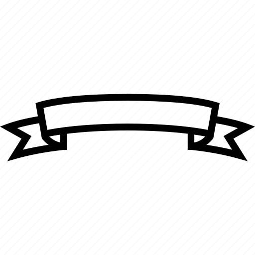 banner, infographic, ribbon icon