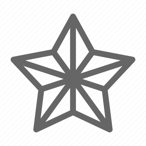 bethlehem, christmas, five, shape, star icon