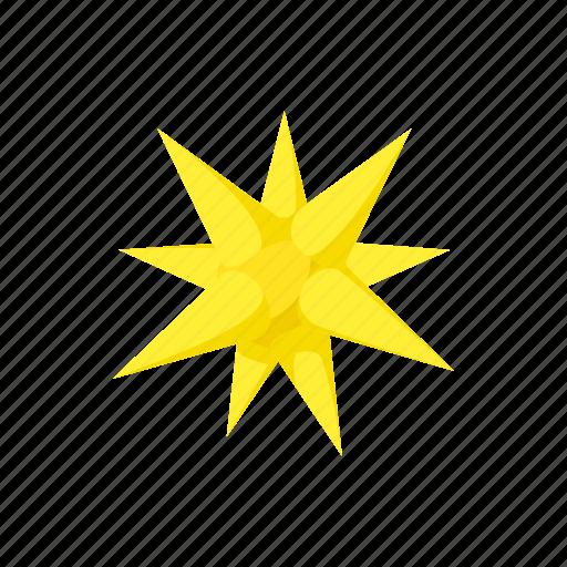bright, cartoon, celebration, christmas, moravian, point, star icon
