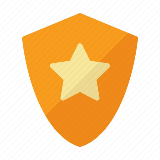 badge, premium, protect, star icon