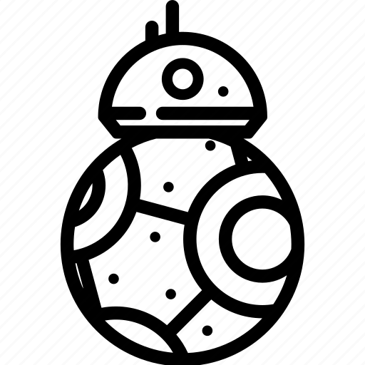 Bb8, droid, friend, robot icon - Download on Iconfinder