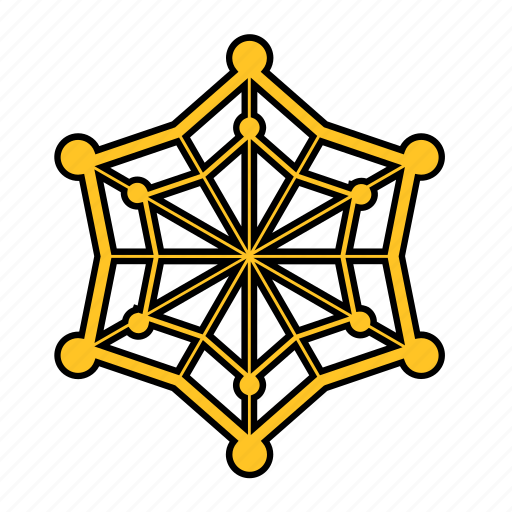 cob, cobweb, shape, spide, spiderweb, star, web icon