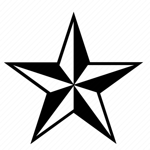cardinal, points, rose, star, winds icon