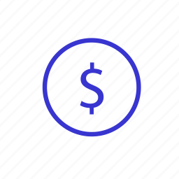 bank, coin, investment, money, payment, profit, usd icon