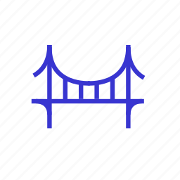 bridge, california, startup icon