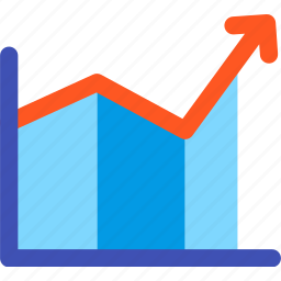 analysis, business, diagram, graph, growth, report, statistics icon