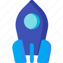 business, launch, rocket, space, spaceship, startup icon