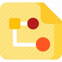 creative, design, map, plan, project, shape, strategy icon