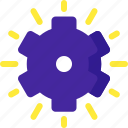 control, gear, options, panel, setting, solution, strategy icon