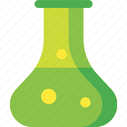 chemistry, experiment, flask, laboratory, research, science icon