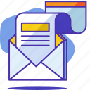 communication, letter, mail, marketing, newsletter, seo, startup icon