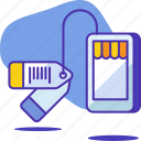 ecommerce, mobile, seo, shop, shopping, startup, tag icon