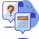 ansewr, answer, chat, faq, question, seo, startup