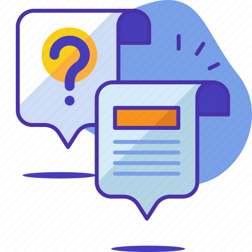 ansewr, answer, chat, faq, question, seo, startup icon