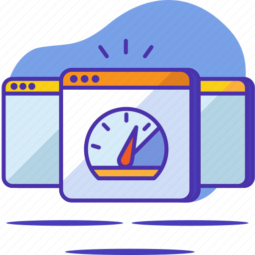 fast, optimization, seo, speed, startup, test, web page icon