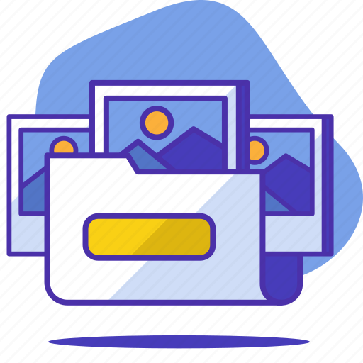 folder, gallery, photo, photography, picture, seo, startup icon
