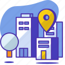 location, office, pin, seo, startup, address, pointer
