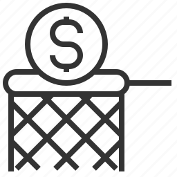 business, chasing, coin, dollar, dollars, financial, sign icon