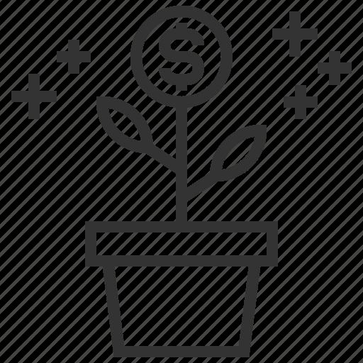 analytics, business, finance, growth, money, statistics icon