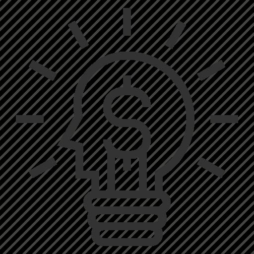 energy, idea, innovation, power icon