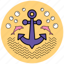 anchor, equipment, startup, tool, tools, work icon