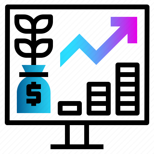 Finance, financial, growth, money, profit icon - Download on Iconfinder