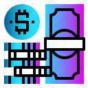 bank, cash, currency, dollar, money icon