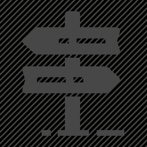 pointer, signpost, street icon