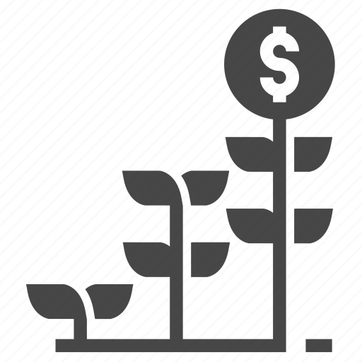 finance, investment, startup icon