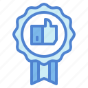 award, like, medal, reward, winner icon