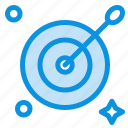 aim, arrow, target icon