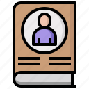 communications, contract, document, documentation, letter, letters, writing icon