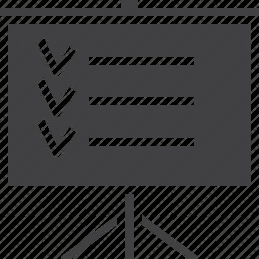 board, checklist, planning icon