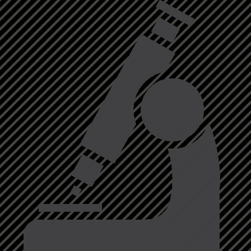 microscope, research, science icon