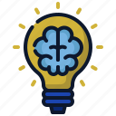 brain, business, creative, idea, new business, start up, startup icon