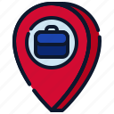 business, location, map, new business, pin, start up, startup icon