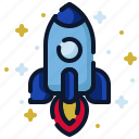 business, launch, new business, rocket, spaceship, start up, startup icon