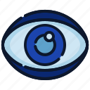 business, eye, new business, start up, startup, view, vision icon