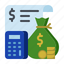 accounting, budget, business, finance, new business, start up, startup icon
