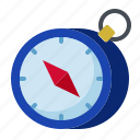 business, compass, direction, navigation, new business, start up, startup icon