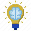 brain, business, creative, idea, new business, start up, startup icon