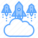 business, cloud, communication, connection, meeting, strategy, vision icon