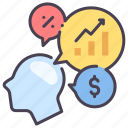 analysis, business, chart, data, finance, graph, marketing icon