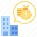 accounting, budget, business, company, finance, financial, investment icon