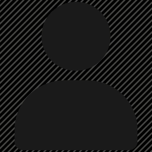 business, people, profile, symbolicon icon