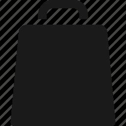 bag, business, shopping bag, symbolicon icon