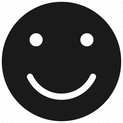 business, emoticon, good, satisfied, smile, symbolicon icon