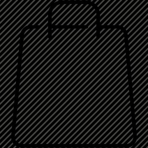 bag, business, shopping, shopping bag, symbolicon icon