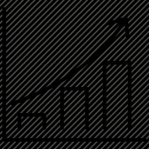 business, diagram, graphic, startup, symbolicon, top icon